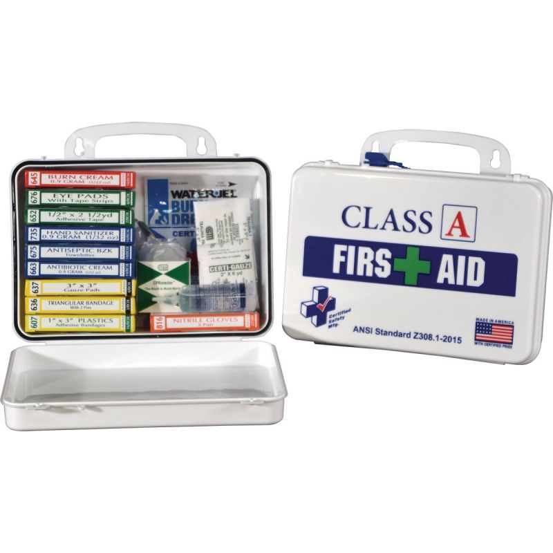 Certified Safety Class A ANSI & OSHA Certified First Aid Kit