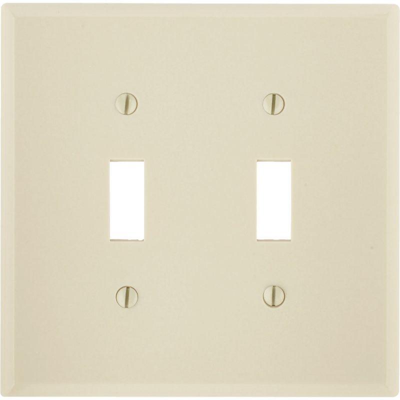 Leviton Mid-Way Switch Wall Plate Ivory
