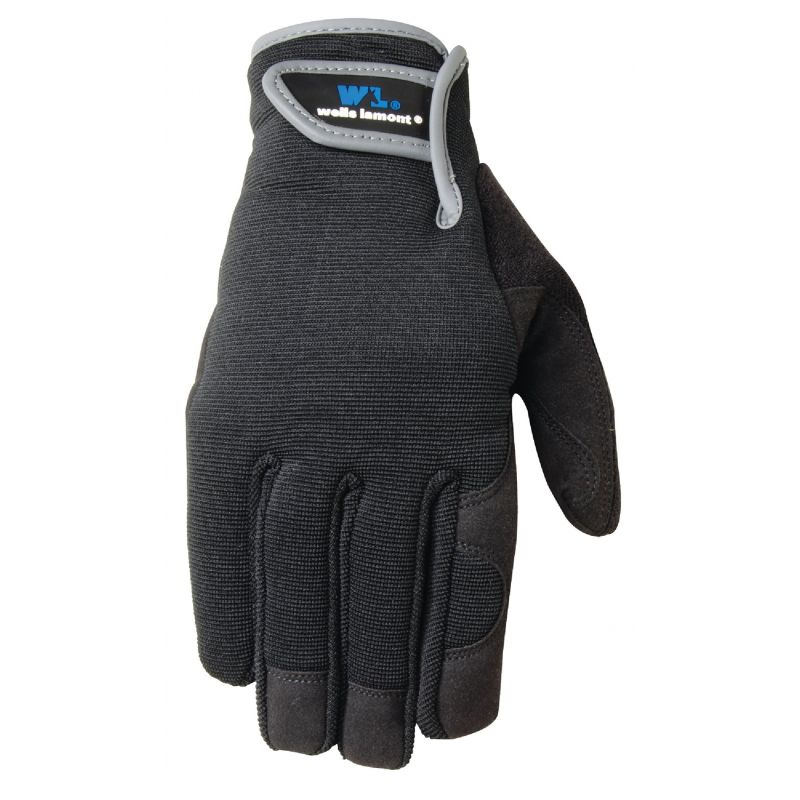 Wells Lamont Synthetic Leather Hi Dexterity Kid's Glove Age 7 To 12, Assorted