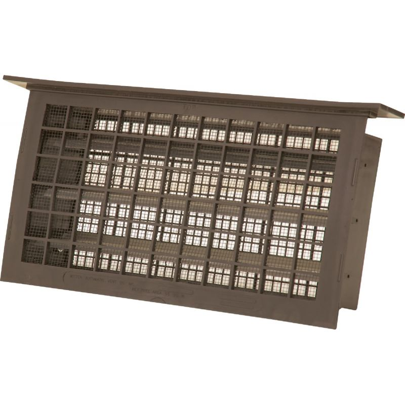 Witten Automatic Foundation Ventilator with Lintel 8 In. X 16 In., Brown