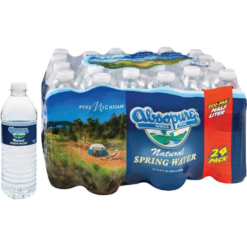 Absopure 0.5 Liter Bottled Spring Water 0.5 Liter