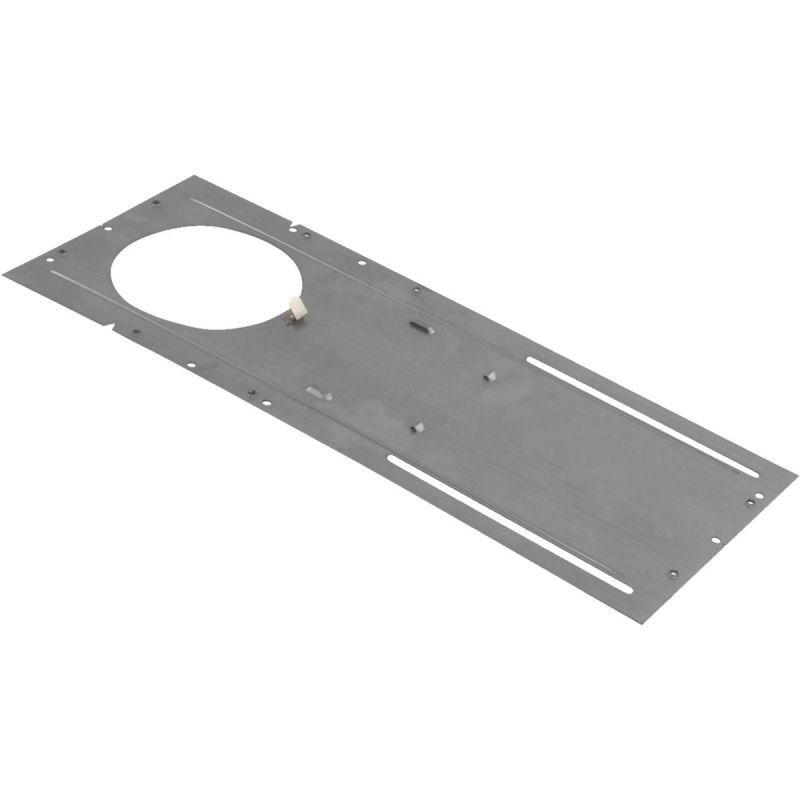 Liteline Trenz ThinLED Recessed Fixture Mounting Plate 4 In., Metallic