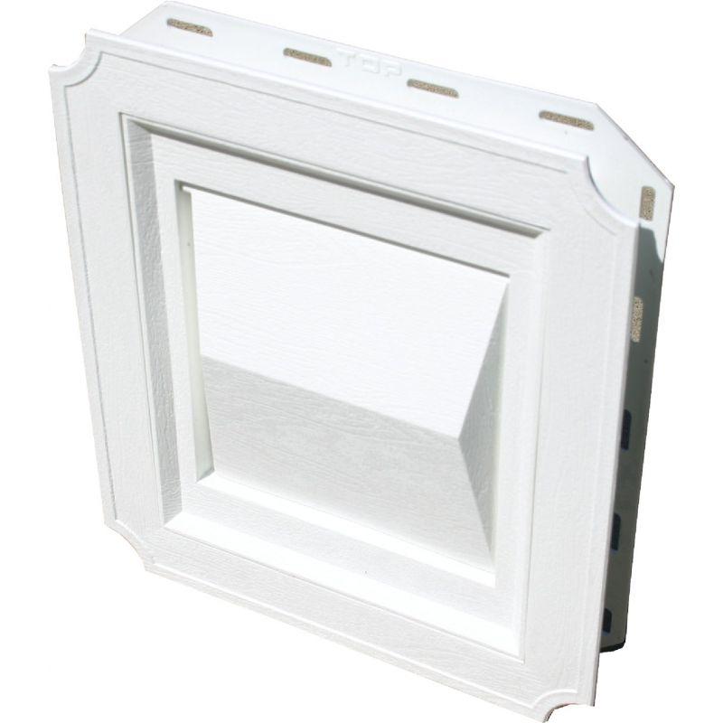Builder's Best J-Block Dryer Vent Hood 4 In., White