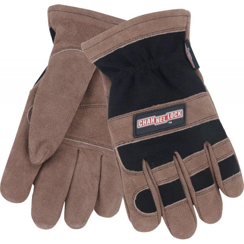 Channellock Winter Work Glove L, Brown & Black