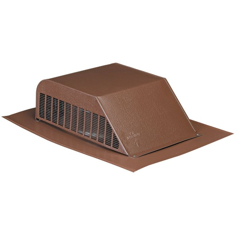 Airhawk 50 In. Galvanized Slant Back Roof Vent Brown (Pack of 6)