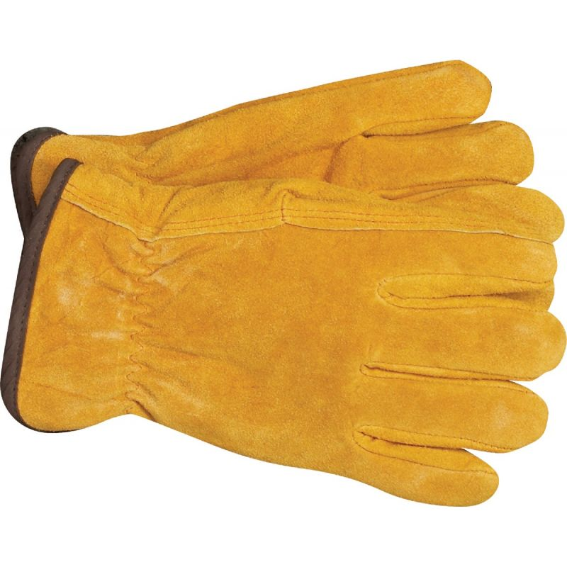 Do it Lined Leather Winter Work Glove M, Tan