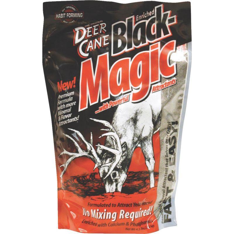 Deer Cane Black Magic Mineral Deer Attractant 4-1/2 Lb.