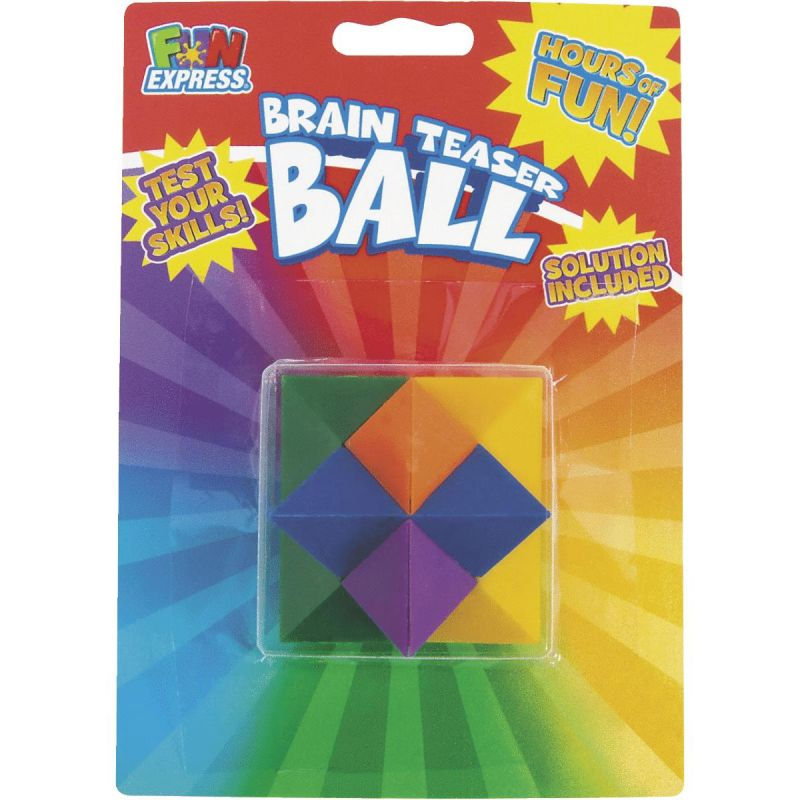 Fun Express Brain Teaser Puzzle Ball (Pack of 6)