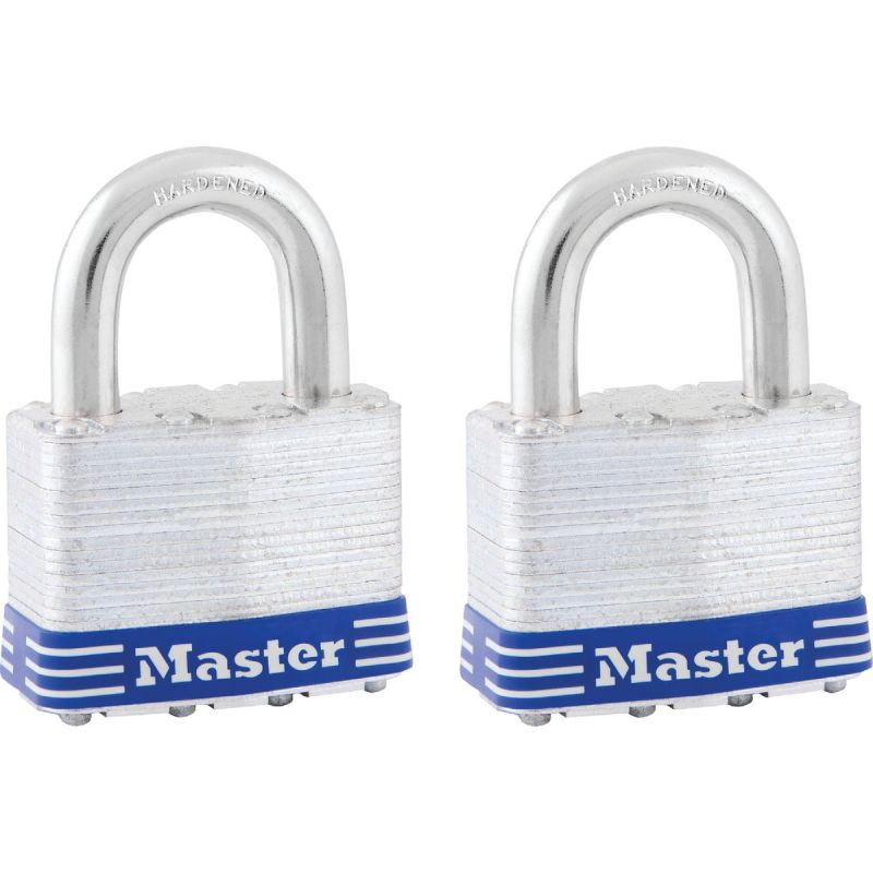 Master Lock 2 In. Wide 4-Pin Tumbler Keyed Padlock