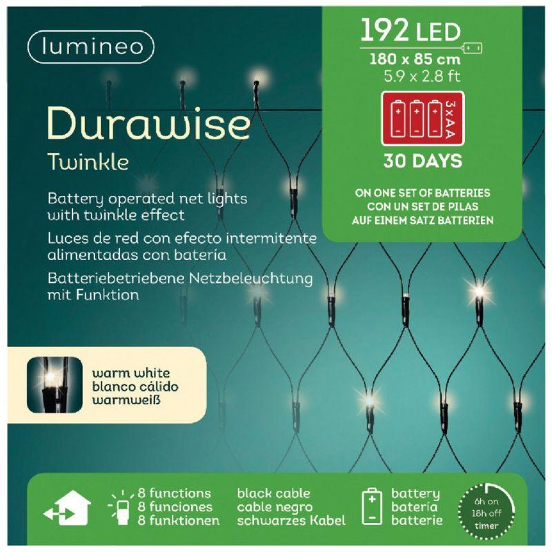 Lumineo Durawise LED Battery Operated Net Light Set
