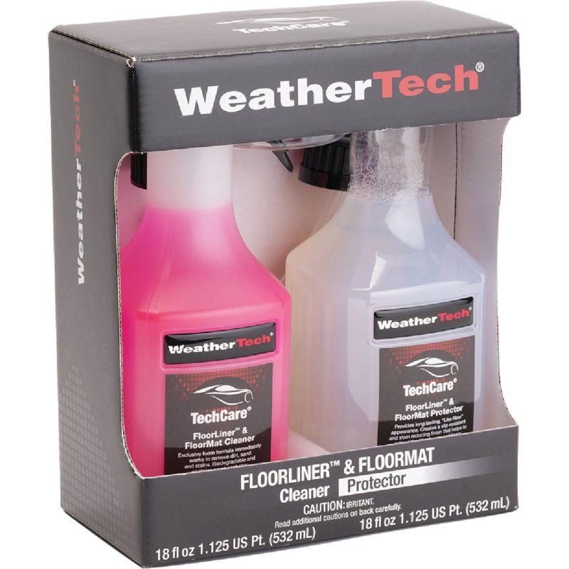 WeatherTech TechCare Floorliner/Floormat Auto Interior Cleaner/Protector Kit 18 Oz.