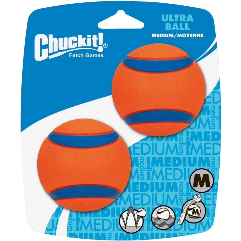 Petmate Chuckit Ultra Ball Dog Toy Medium, Red