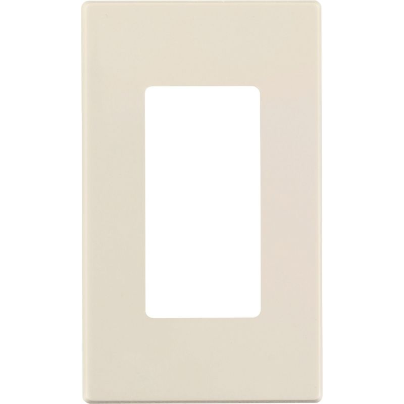 Leviton Decora Plus Screwless Decorator Wall Plate Light Almond