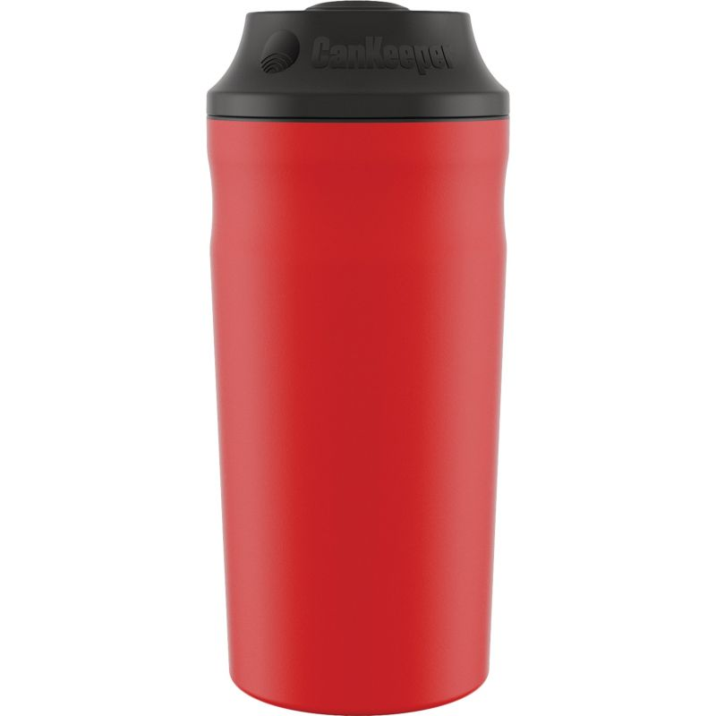 CanKeeper Insulated Drink Holder 12 Oz., 16 Oz., & Slim Can, Red