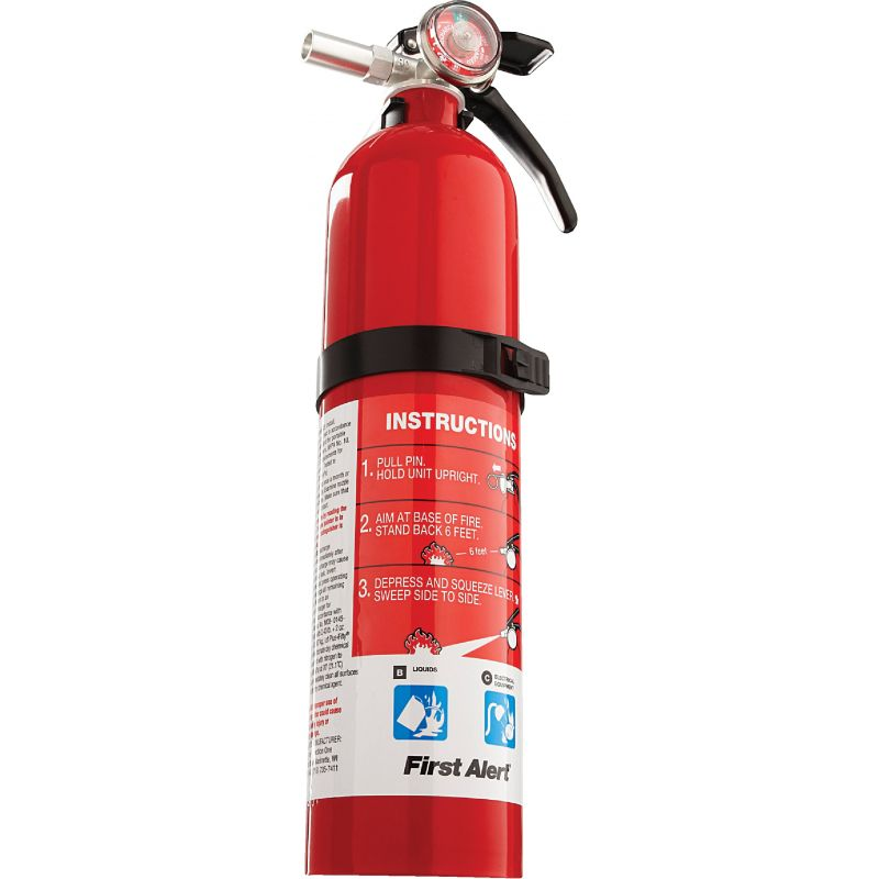 First Alert Rechargeable Garage Fire Extinguisher