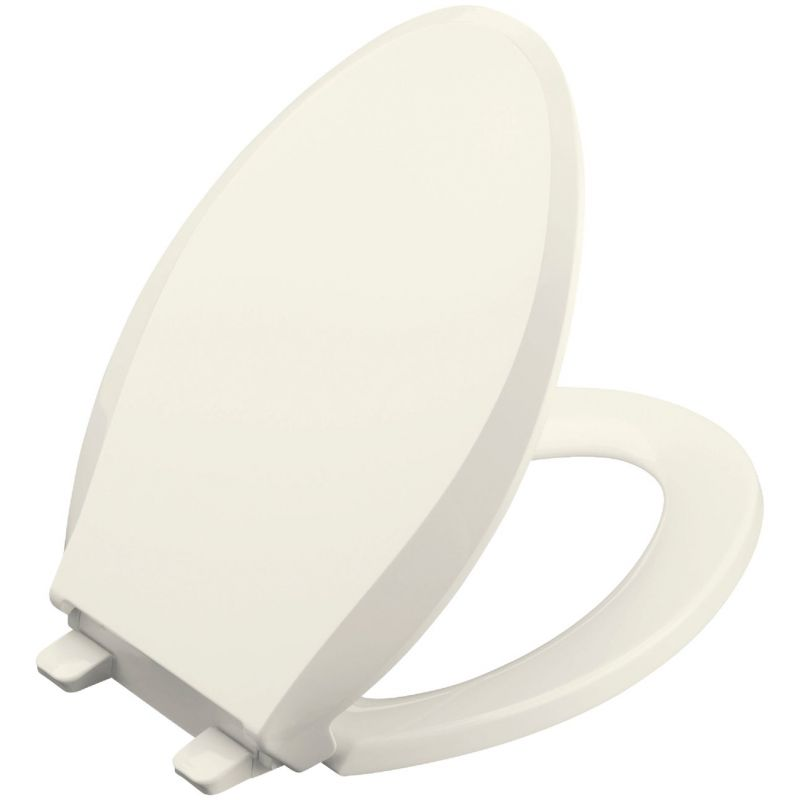Kohler Cachet Quiet-Close Toilet Seat w/Grip-Tight Biscuit, Elongated
