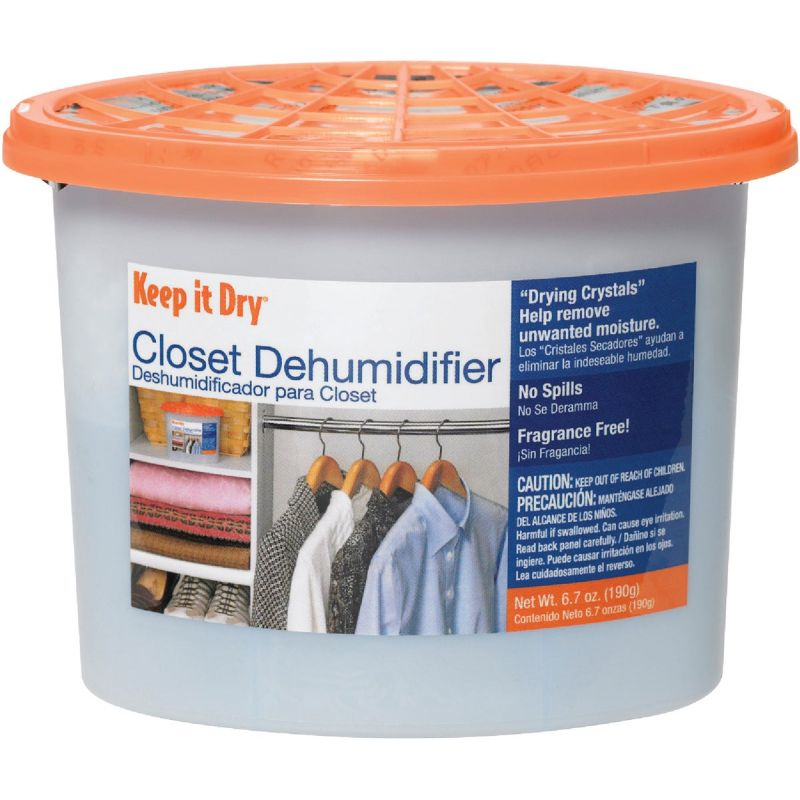 Keep it Dry Closet Moisture Absorber 6.7 Oz., Room Size