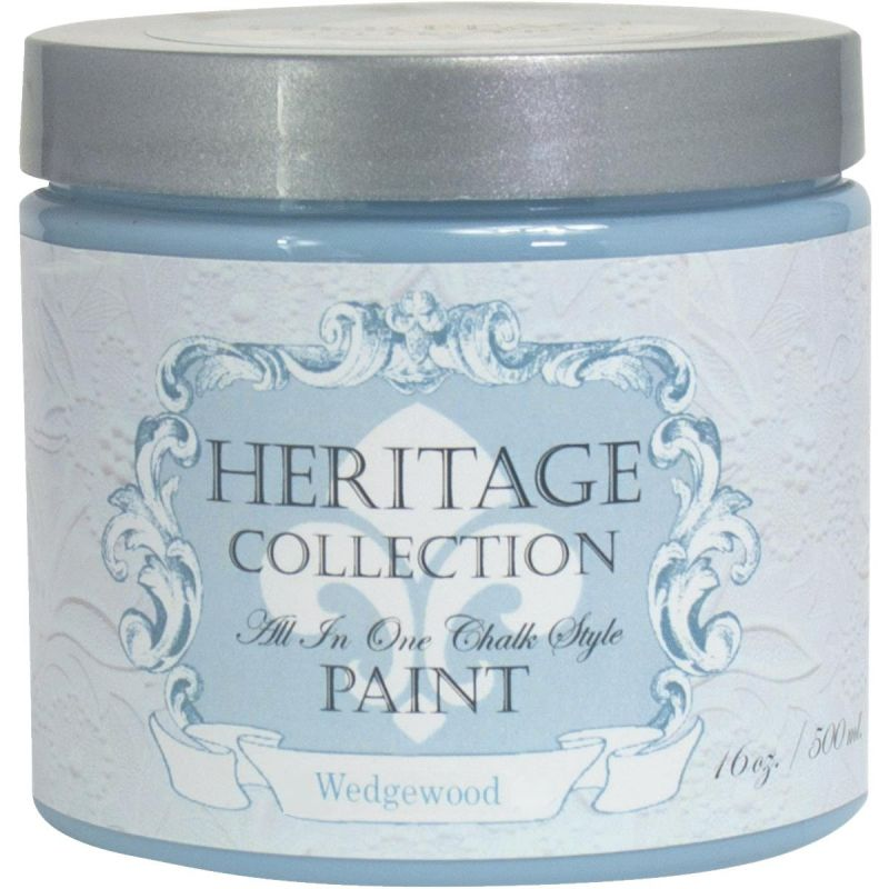 All-In-One Chalk Style Paint Wedgewood - Blue Gray Pint