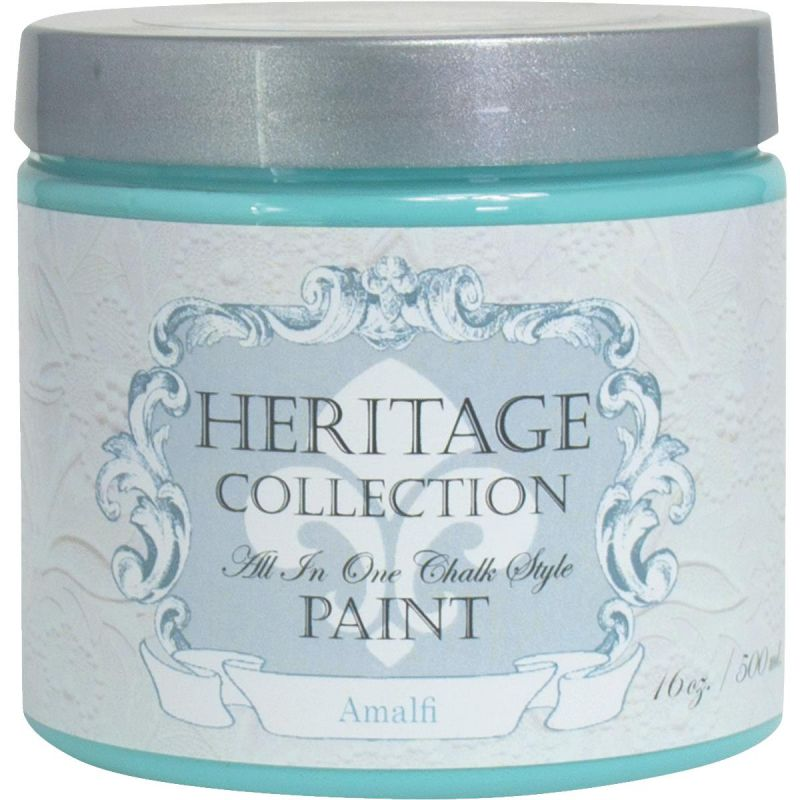 All-In-One Chalk Style Paint Almalfi - Teal Pint