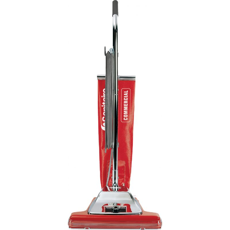 Sanitaire By Electrolux 16 In. Commercial Upright Vacuum Cleaner Red