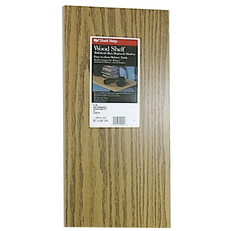 Knape & Vogt All-Purpose Shelf Oak