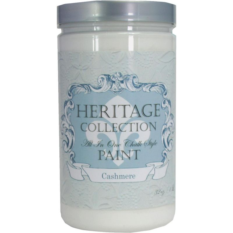 All-In-One Chalk Style Paint Cashmere - White Quart