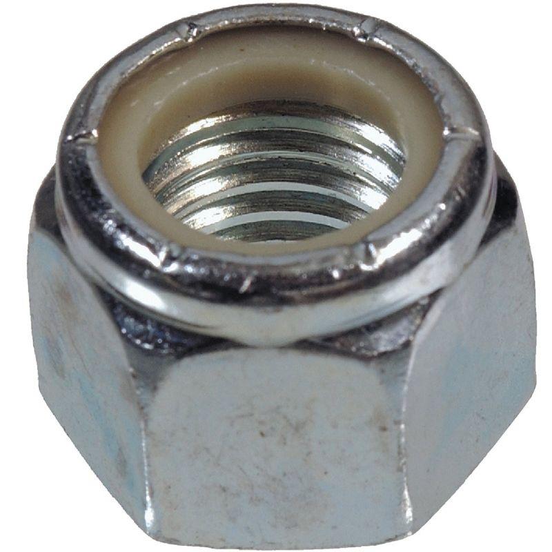 Hillman Steel Course Thread Nylon Insert Lock Nut
