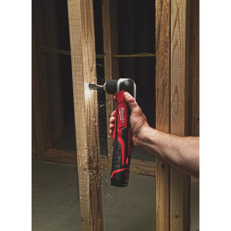 Milwaukee M12 Lithium-Ion Cordless Angle Drill Kit