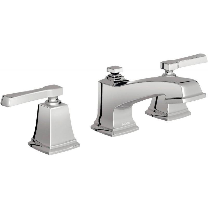 Moen Boardwalk 2-Handle Widespread Bathroom Faucet with Pop-Up