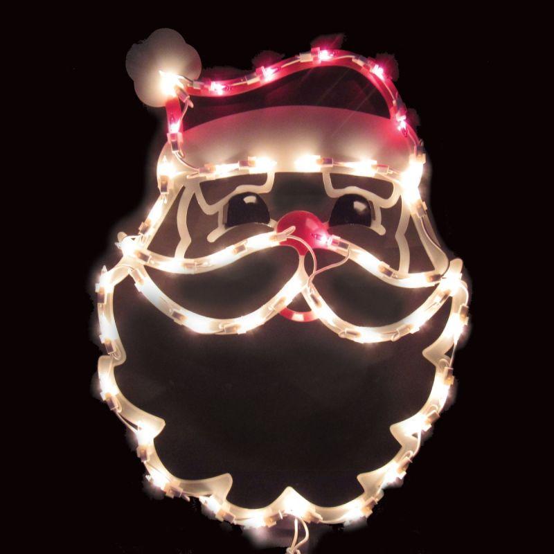 J Hofert Lighted Santa 17 In.