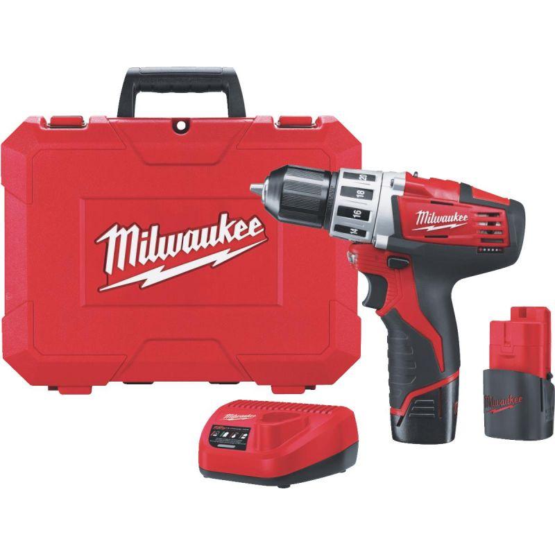 Milwaukee M12 Lithium-Ion Cordless Drill Kit