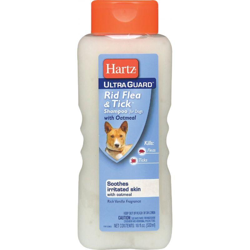 Hartz UltraGuard Rid Flea & Tick Oatmeal Dog Shampoo 18 Oz.