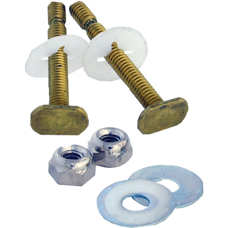 "Lasco E-Z Snap Off Toilet Bolt Set 1/4"" X 2-1/4"""