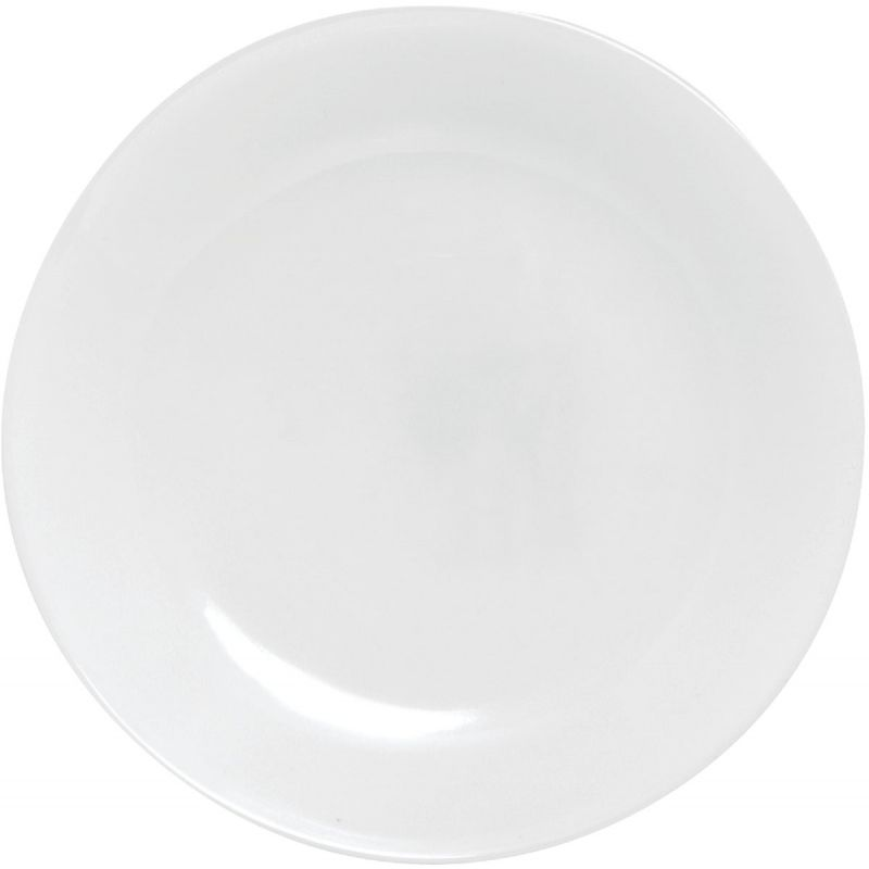 Corelle Winter Frost White Luncheon Plate (Pack of 6)