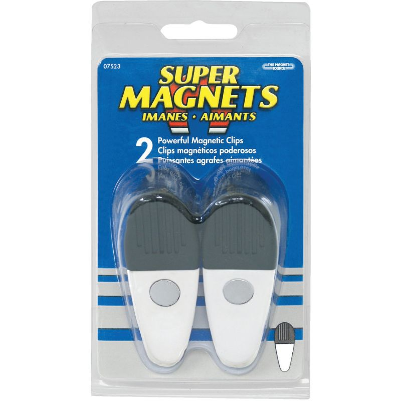 Master Magnetics Large Magnetic Clip White