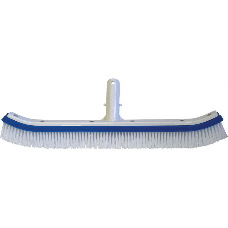 Jed Pool Aluminum Back Curved Wall Brush 6 In. W. X 2-1/8 In. H. X 18 In. L.