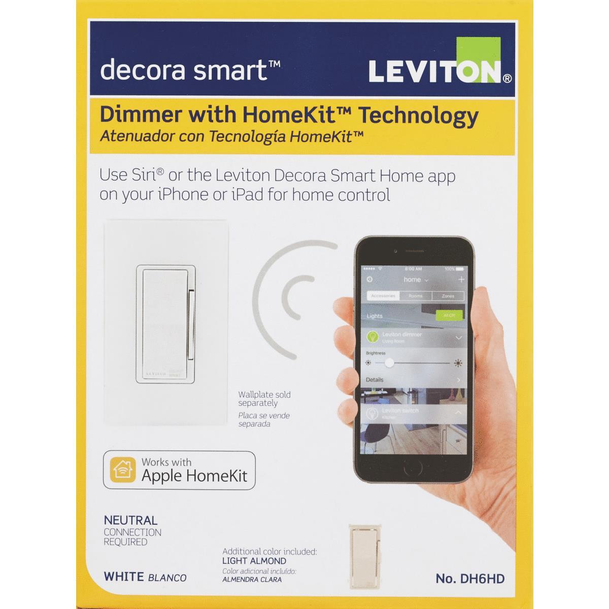 Buy Leviton Decora Smart Rocker Dimmer Switch With HomeKit Technology