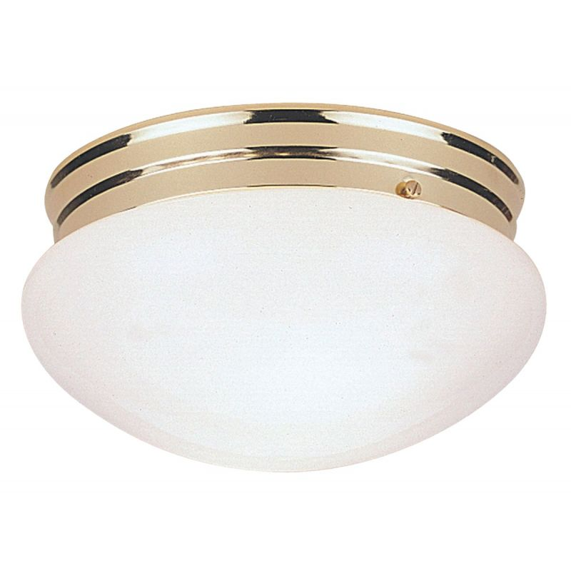 Home Impressions 7-1/2 In. Flush Mount Ceiling Light Fixture 7-1/2 In. W. X 4-5/8 In. H.