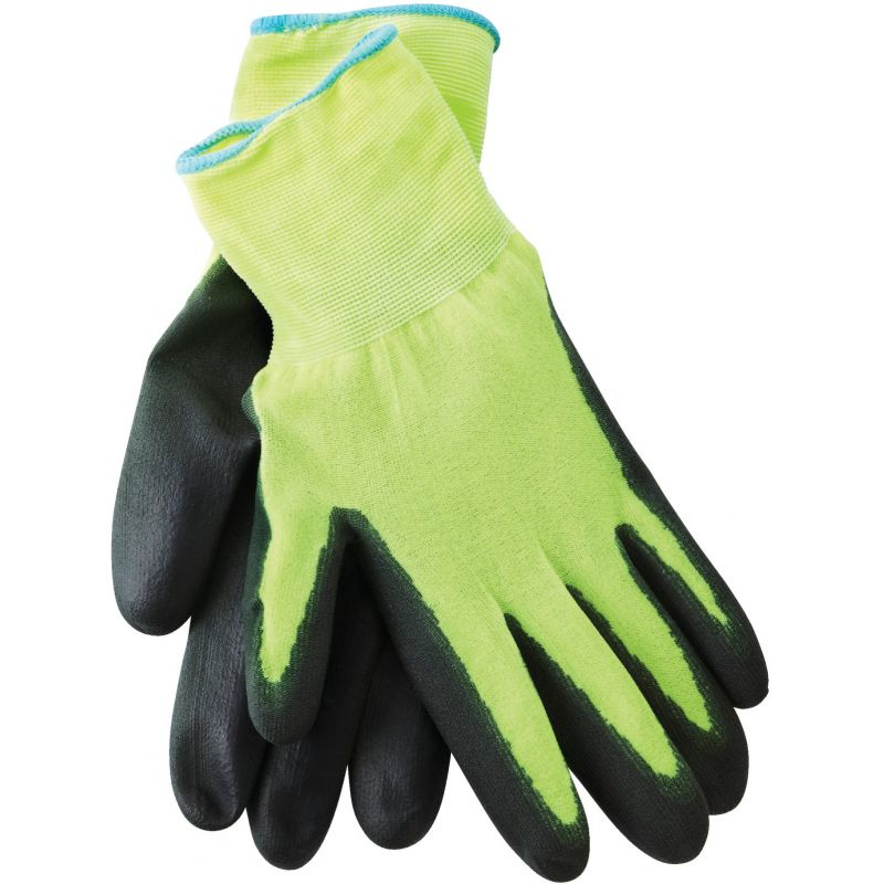 Do it High Visibility Polyurethane Coated Glove XL, Black & Yellow