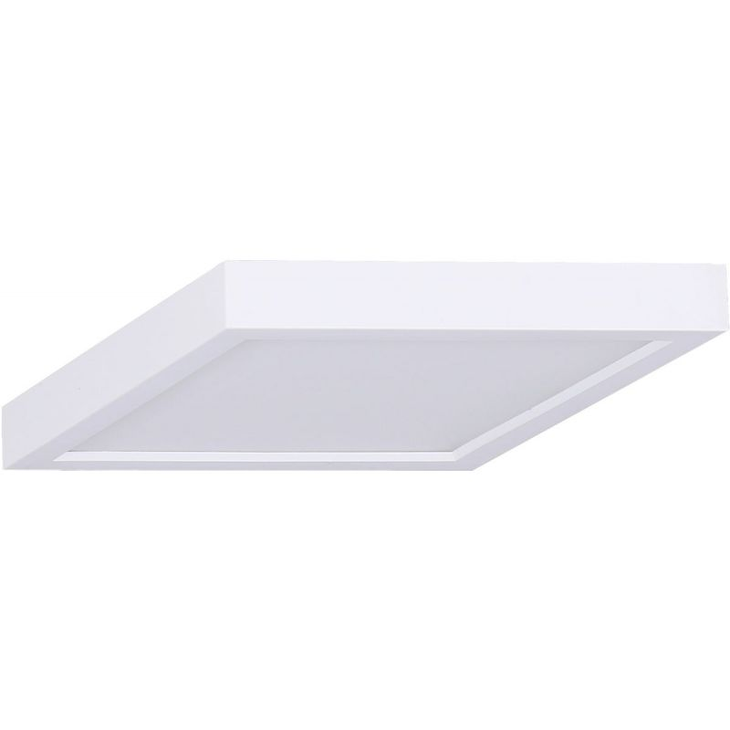 Canarm 5.5 In. LED Square Disc Flush Mount Ceiling Light Fixture 5.5 In. W. X 0.65 In. H. X 5.5 In. L.