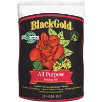 Black Gold All Purpose Potting Soil With Controlled Release Fertilizer