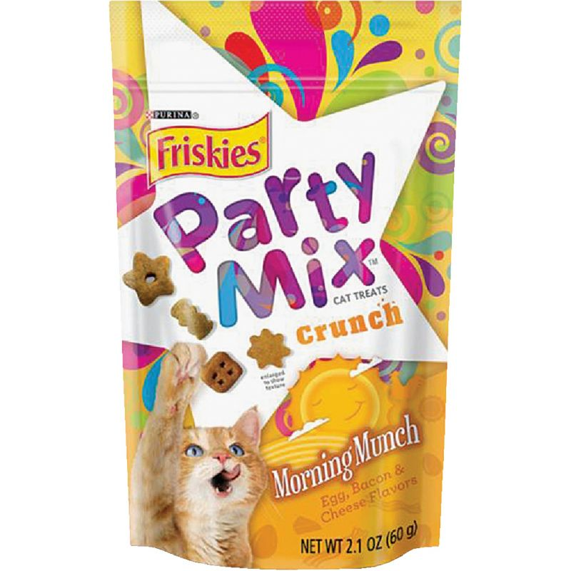 Purina Party Mix Crunch Cat Treat 2.1 Oz.