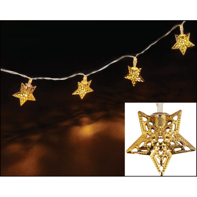 Danson Decor LED Star Battery Operated Light Set