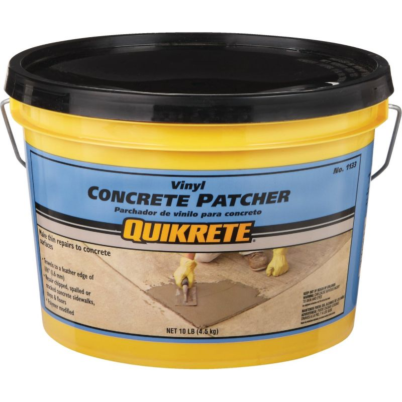 Quikrete Vinyl Concrete Patch 10 Lb., Gray