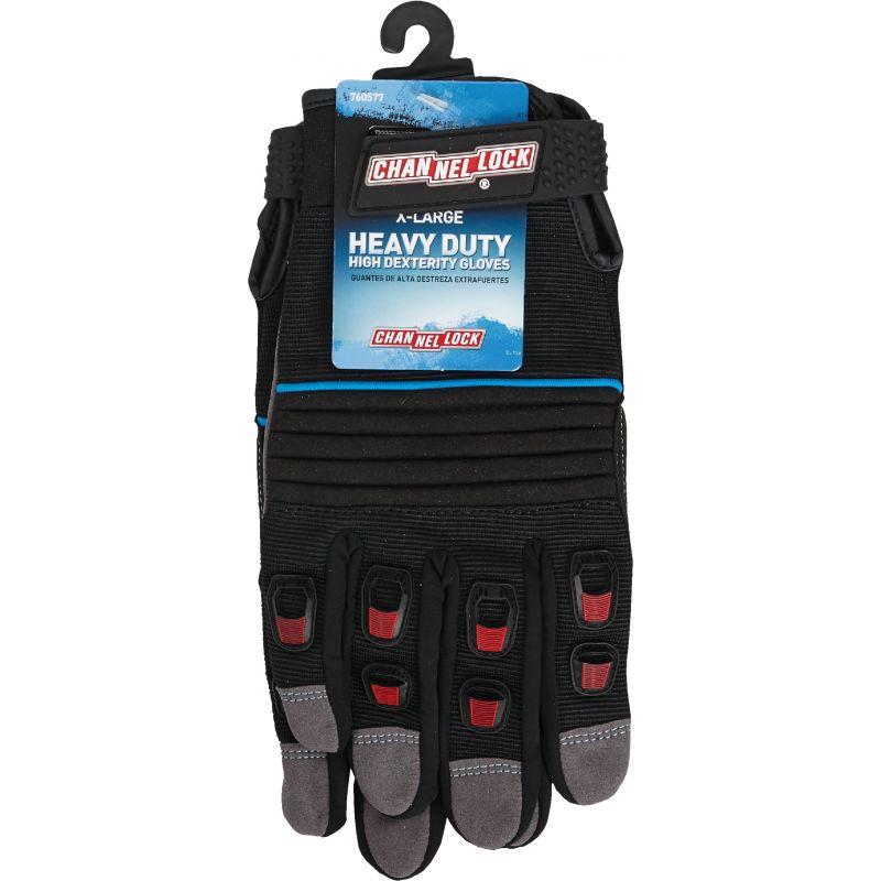 Channellock Heavy-Duty High Performance Glove XL, Gray & Black