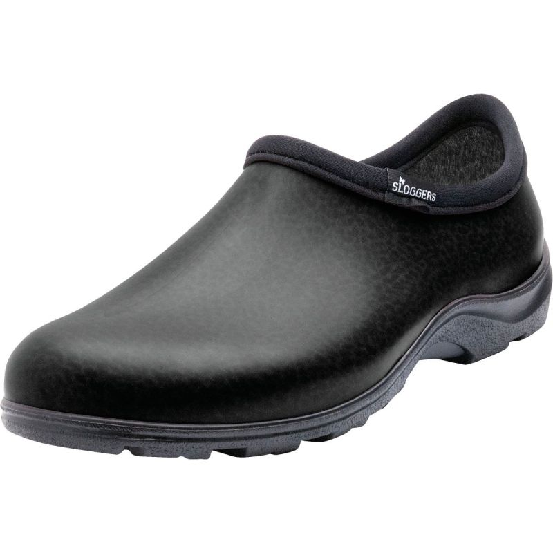 Sloggers Garden Shoe Size 10, Matte Black
