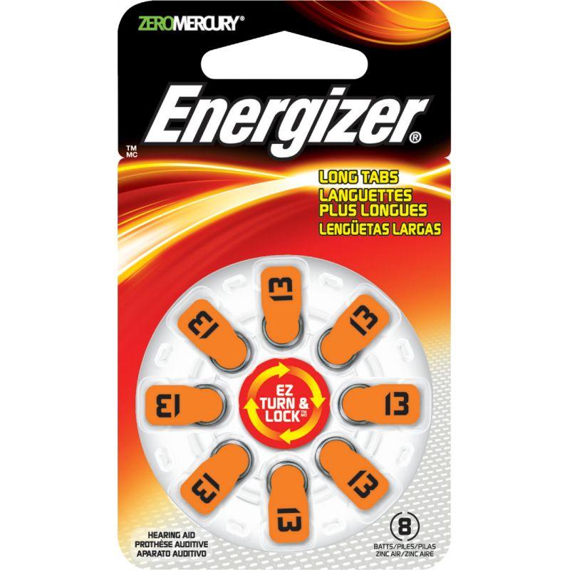 Energizer EZ Turn & Lock Hearing Aid Battery Orange