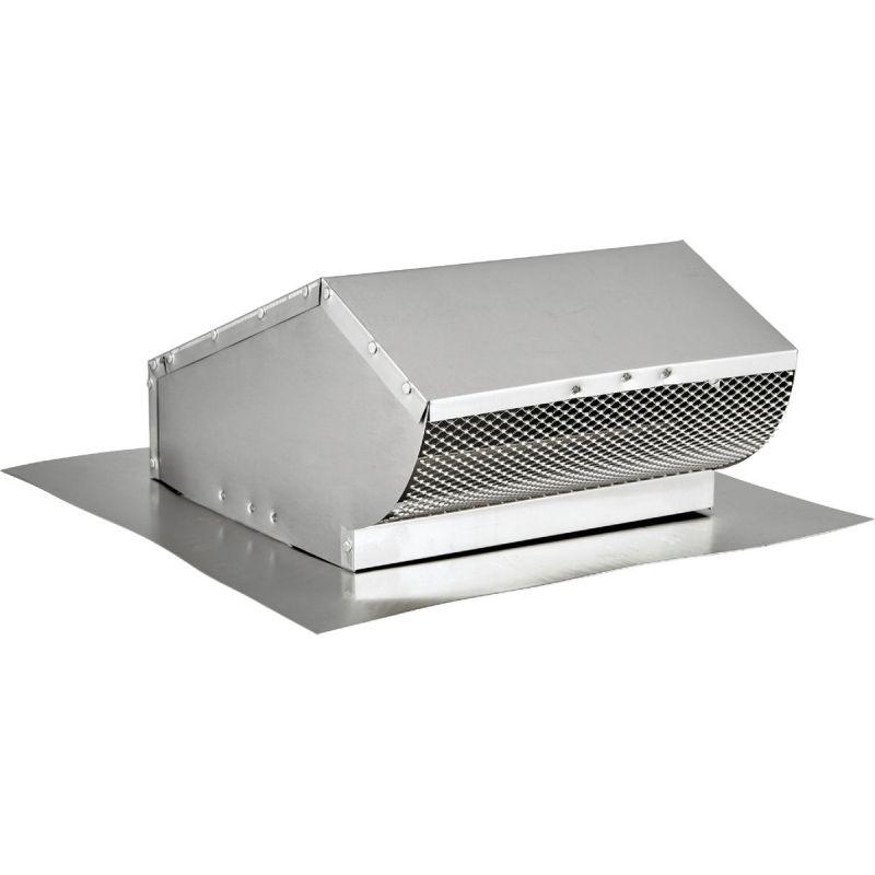 Lambro Aluminum Roof Vent Cap 10 In., Mill Finish