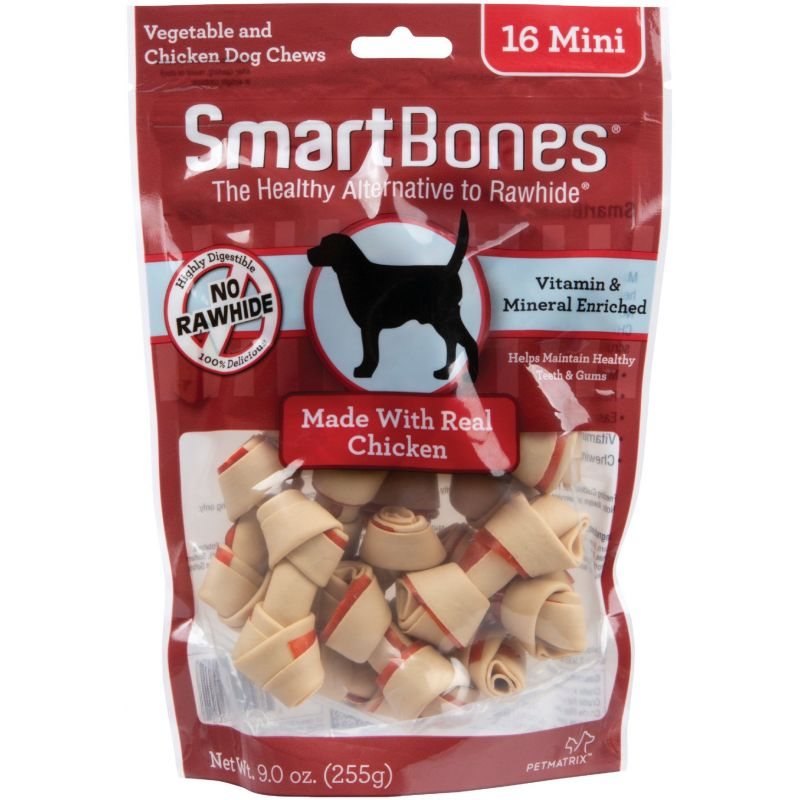 SmartBone Mini Chew Bone 16-Pack