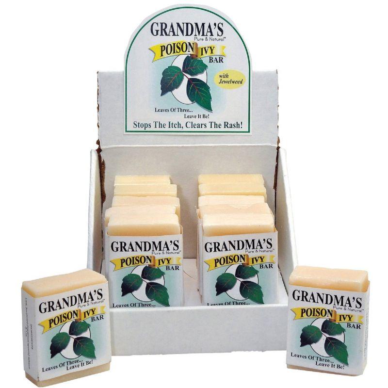 Grandma's Pure & Natural Poison Ivy Bar 2 Oz